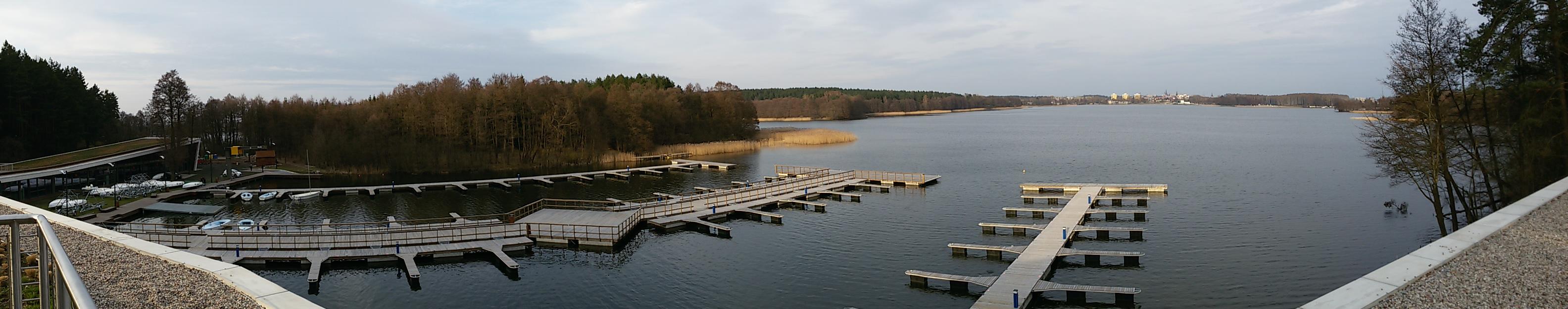 Widok na Jezioro Ukiel