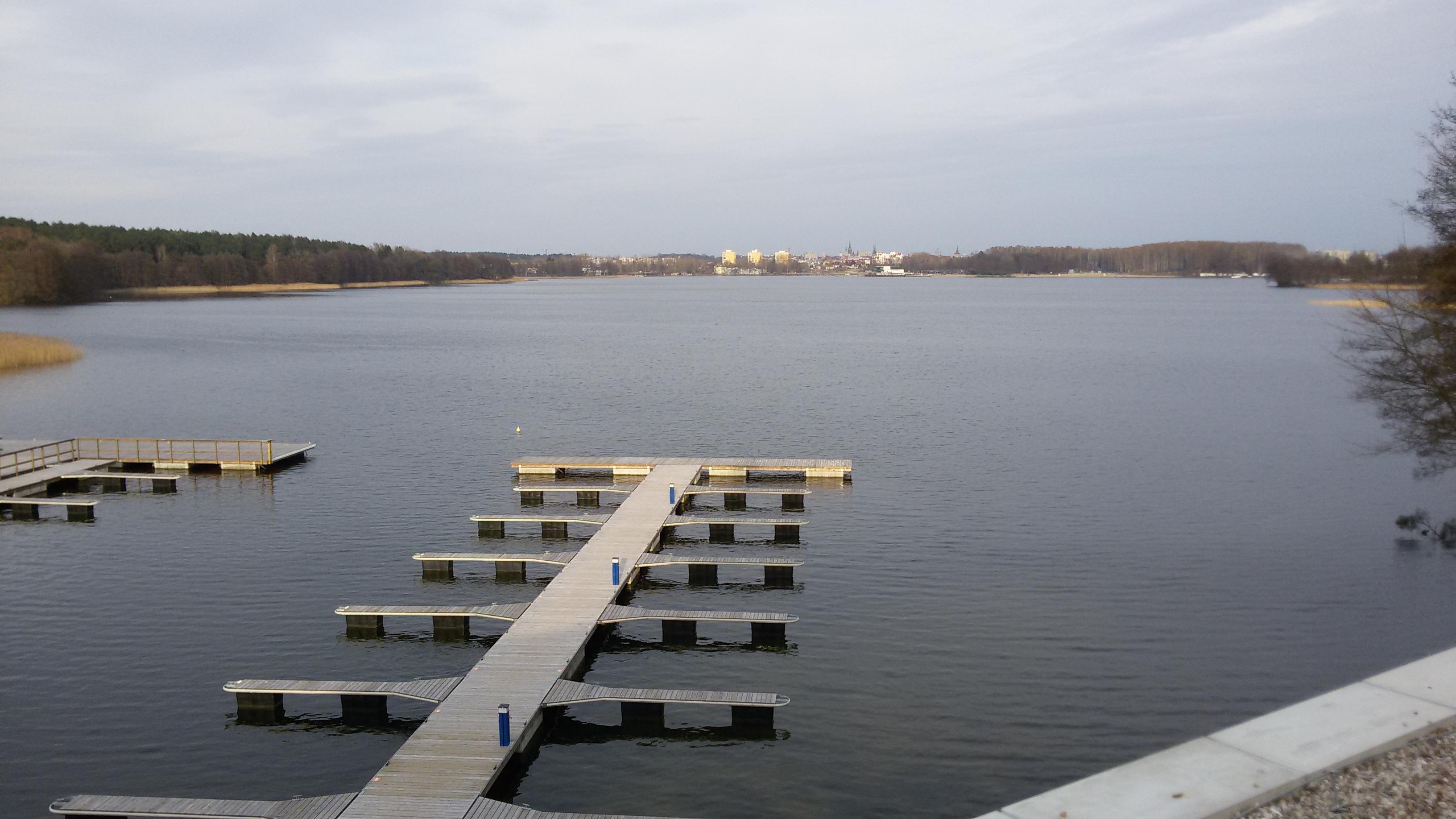 Widok na Jezioro Krzywe