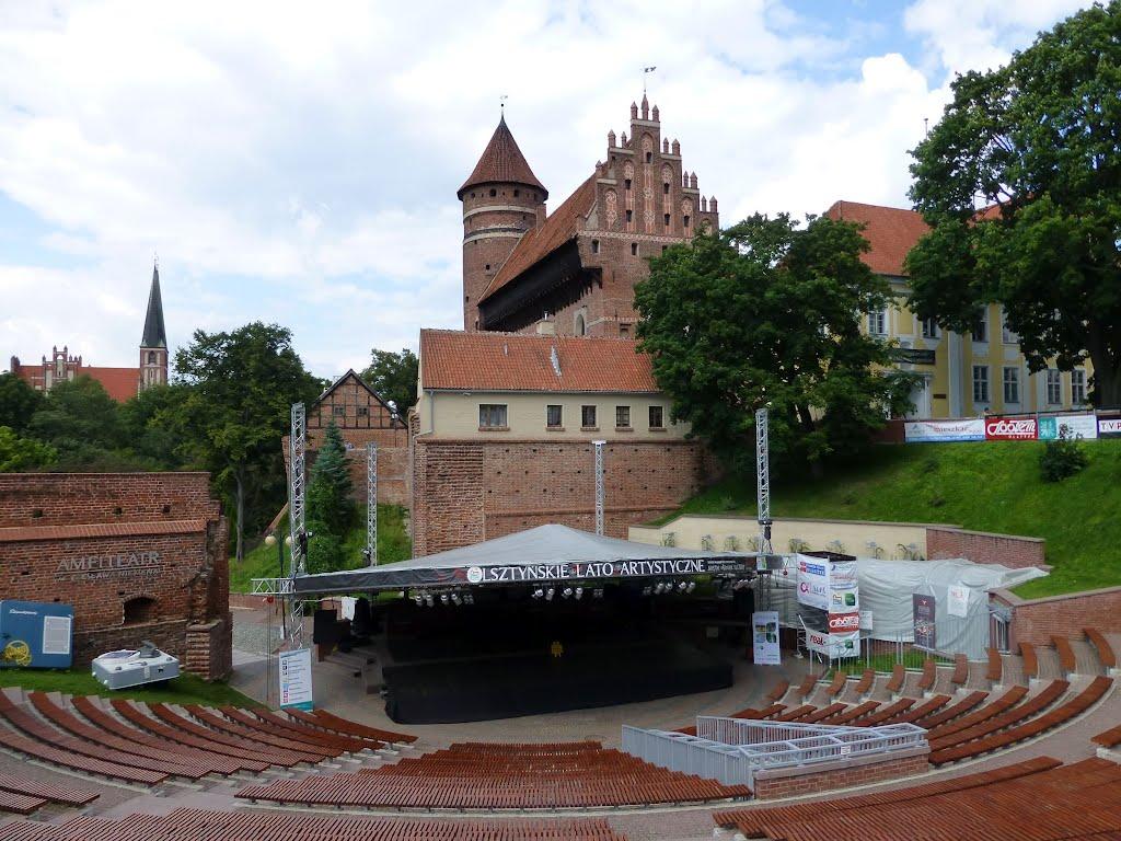 Amfiteatr - centrum Slow Life Music Festivalu