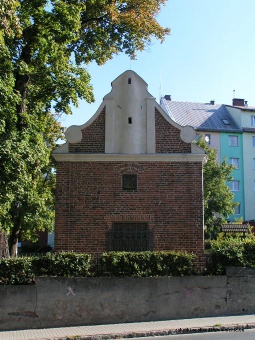 Wygląd kaplicy od strony ul. Grunwaldzkiej.
